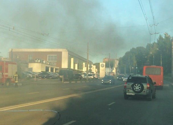 Из-за электроинструмента в Нижегородском районе сгорел шиномонтаж - фото 2