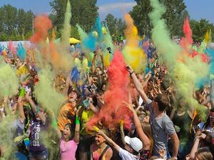 Фестиваль красок пройдет в Автозаводском парке