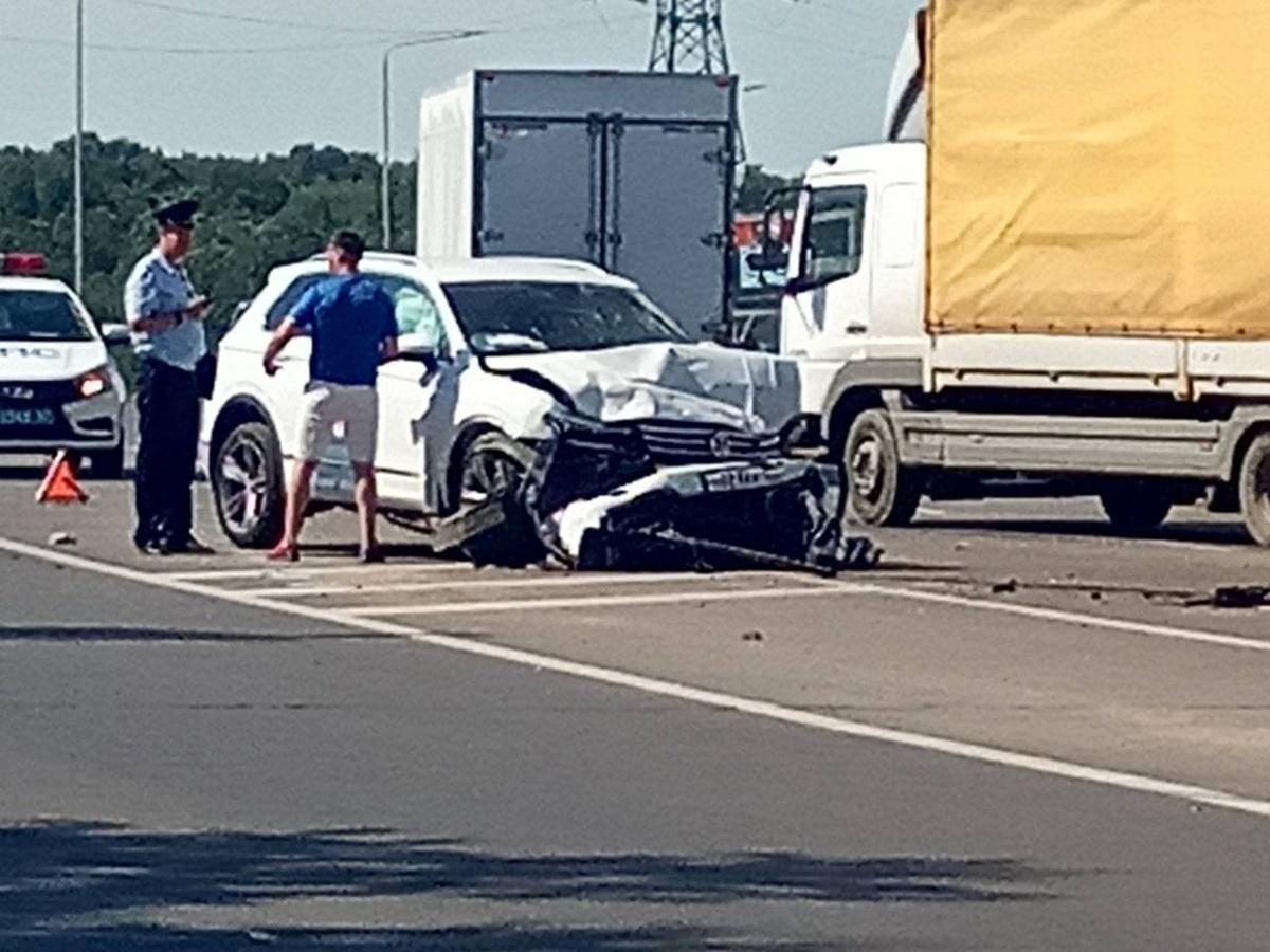 Женщина погибла в аварии с участием трех автомобилей в Советском районе - фото 2