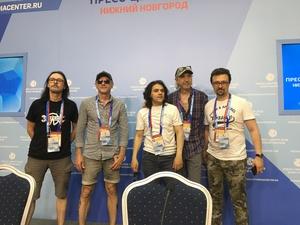 Группа «Земляне» в Нижнем Новгороде спрогнозировала результат матча Россия — Уругвай
