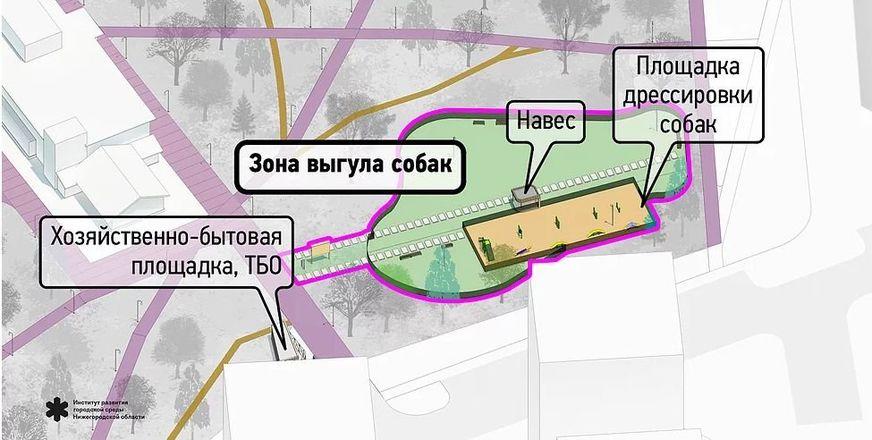 Световые инсталляции и площадка для йоги появятся в парке имени Пушкина - фото 12