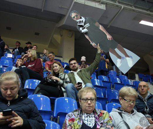 Картонный болельщик поддержал БК «НН» в победном матче с «Цмоки-Минск» - фото 4