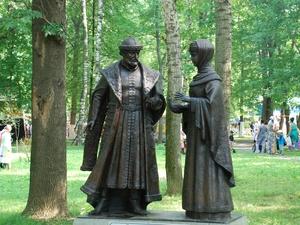Скульптуру «Петр и Феврония» про проекту Алексея Щитова установят в Приокском районе