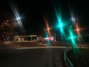 Дополнительное освещение установили на улице Медицинской и проспекте Гагарина