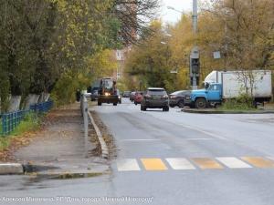 Ремонт дороги на улице Электровозной завершился в Канавинском районе