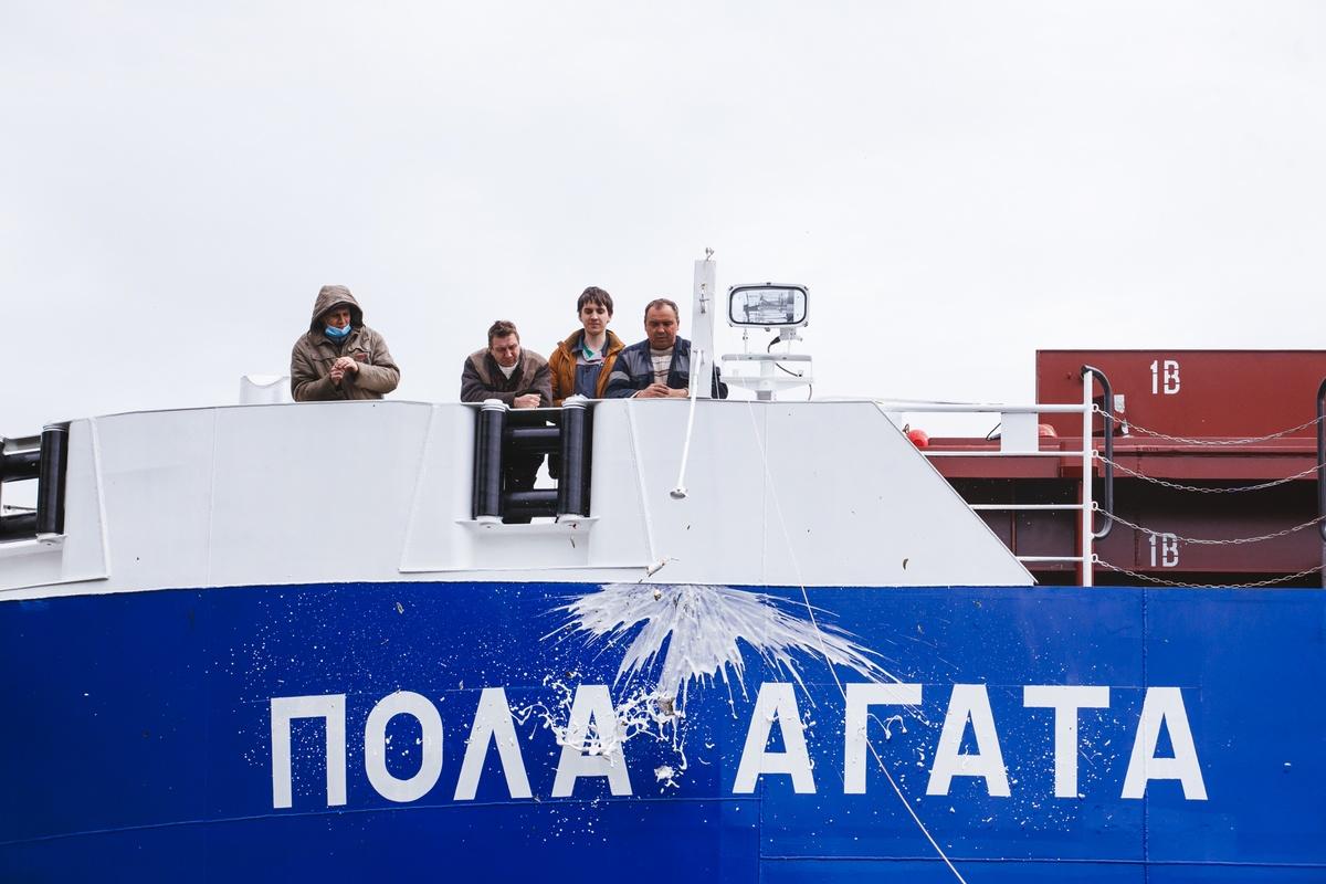 Сухогруз «Пола Агата» сошел со стапелей «Красного Сормова» - фото 2