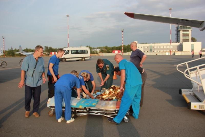 Пострадавшая напожаре девочка продолжит лечение вНижнем Новгороде