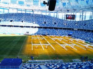 Готов ли стадион «Нижний Новгород» к первому тестовому матчу?