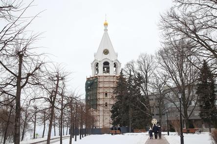 Часы заработали на колокольне в нижегородском Кремле