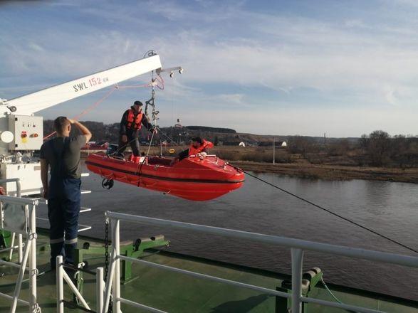 Опубликованы снимки испытаний сухогруза «Пола Ярослава» в Нижегородской области - фото 4