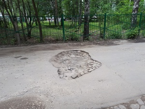 В Нижнем Новгороде закончились деньги на ямочный ремонт дорог