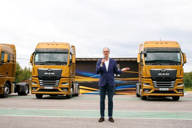 Немецкий лев в России: нижегородцам показали новые грузовики MAN - фото 4