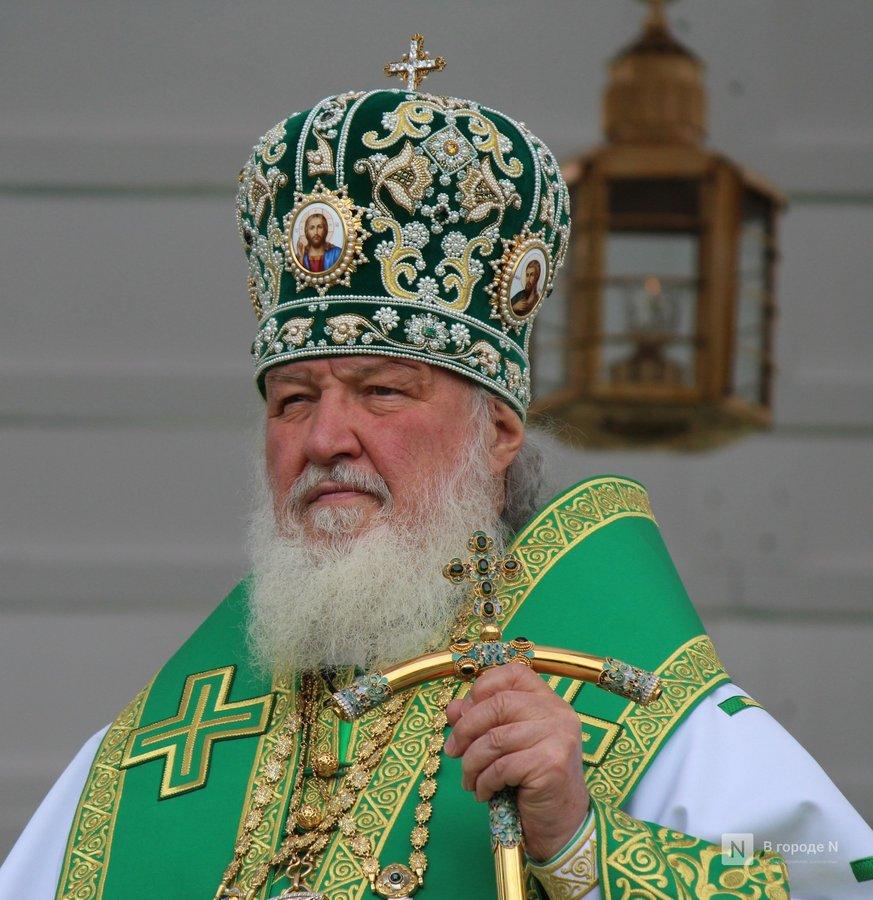 Патриарх Кирилл возглавил божественную литургию в Дивееве  - фото 9