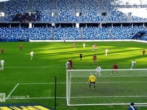 «Тамбов» на нижегородском стадионе сыграл вничью с «Рубином»