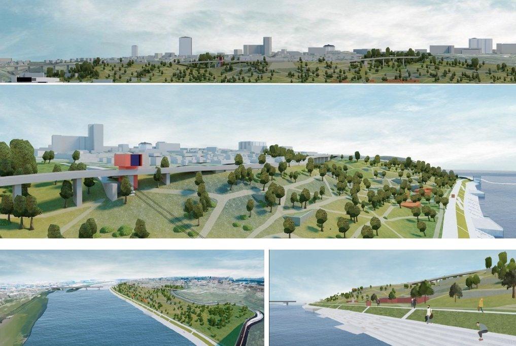 Девять вариантов развития парка «Горки» предложили нижегородские студенты - фото 8
