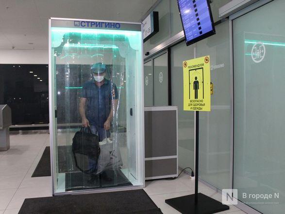 Уникальные дезинфекционные тоннели появились в нижегородском аэропорту - фото 14