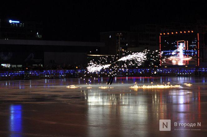 Ирина Слуцкая с ледовым шоу открыла площадку «Спорт Порт» в Нижнем: показываем, как это было - фото 30