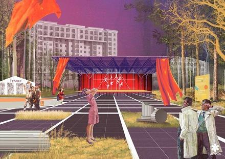 Нижегородцам презентовали концепцию благоустройства центрального парка Дзержинска