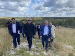 Вячеслав Фетисов посетил свалки в Дзержинске и оценил работы по их ликвидации