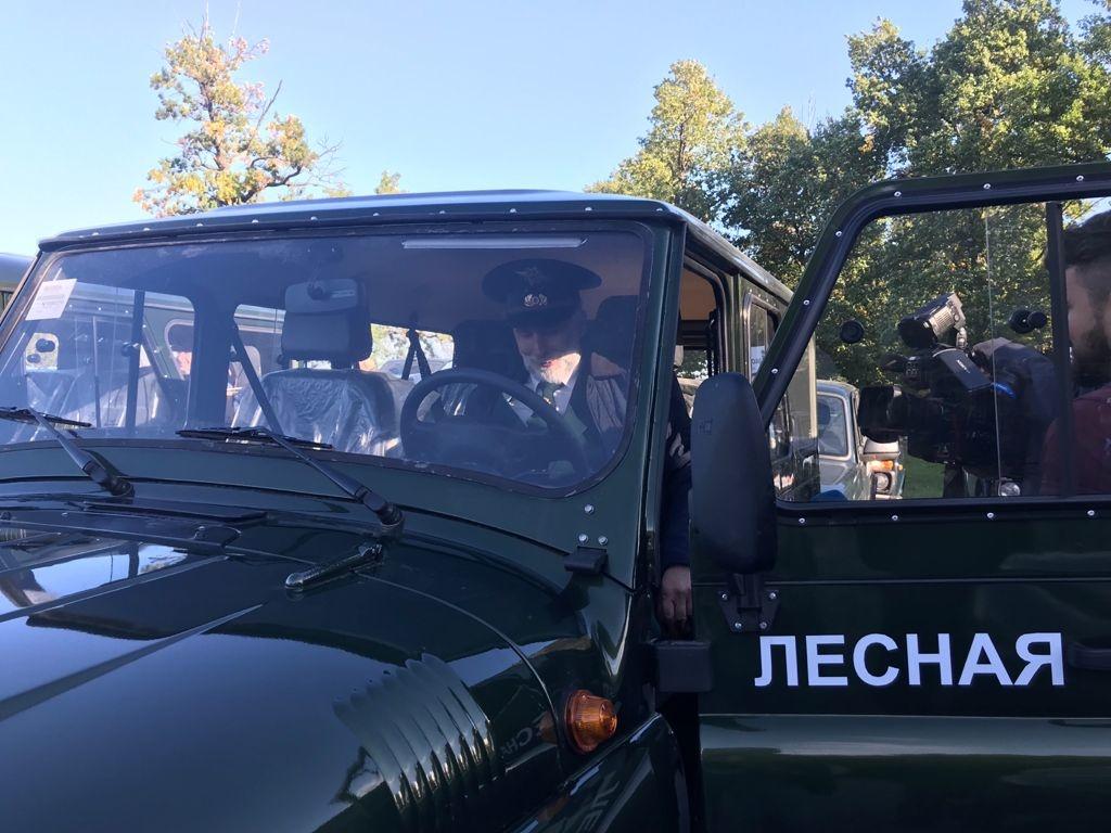 36 новых машин получили нижегородские лесники - фото 1