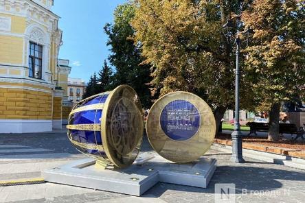 Часы обратного отсчета до 800-летия Нижнего Новгорода останутся у драмтеатра