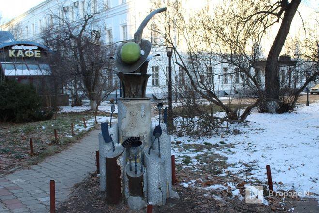 Галоши, ложка, объявление: памятники каким предметам установили в Нижнем Новгороде - фото 11