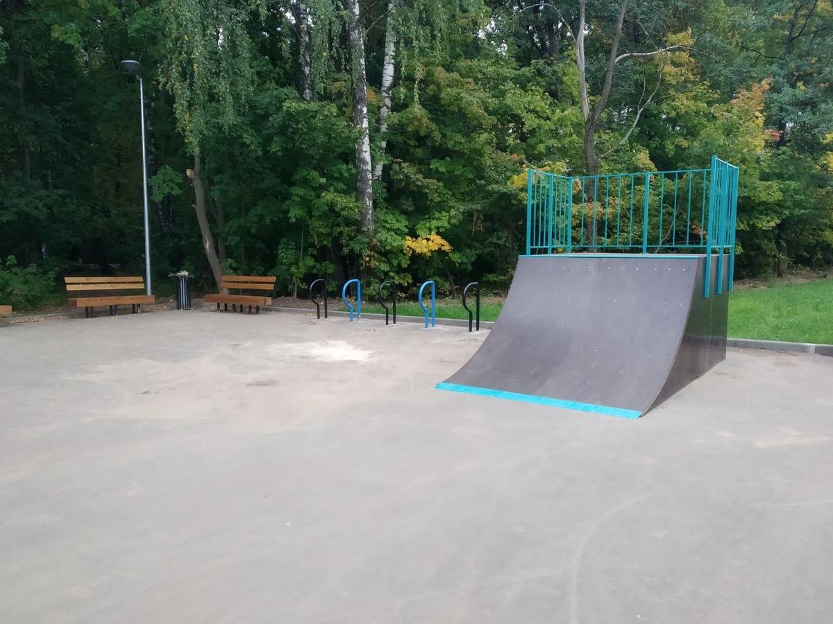 Скейт-площадку установили в сквере «Лесной массив» в Приокском районе - фото 1