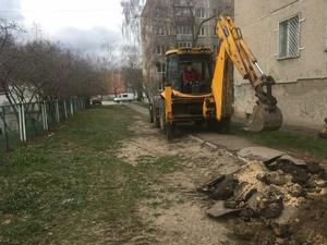 Три улицы в Сормове лишились дорожного покрытия