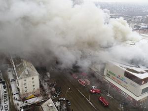 Выяснилась реальная причина страшного пожара в ТЦ «Зимняя вишня»