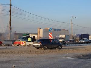 Восстановлена одна из четырех траверс на Мызинском мосту