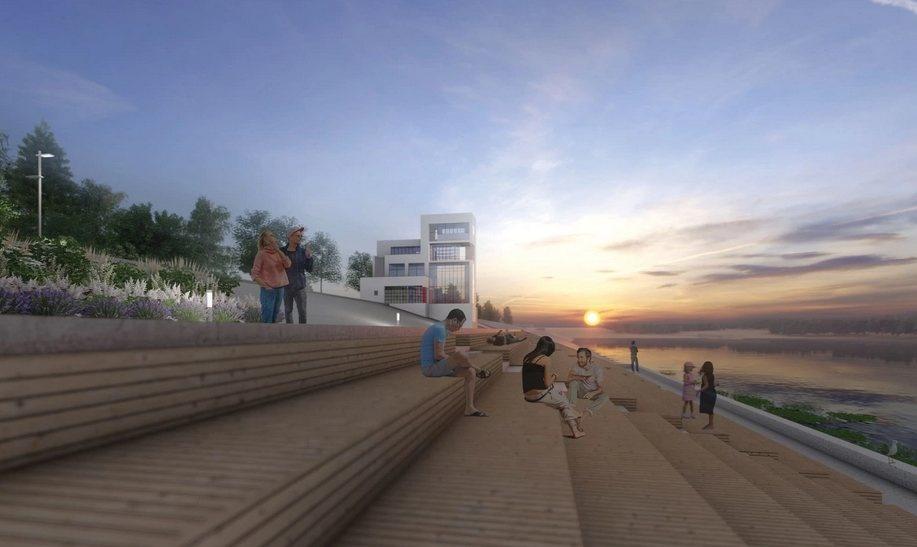 Памп-трек и мост «Петля» появятся на набережной Гребного канала - фото 3
