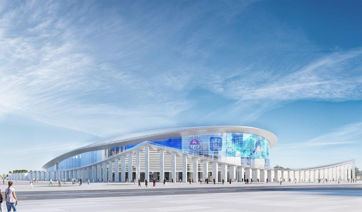 Строительство Ледовой арены на Стрелке отложили до следующего года - фото 1