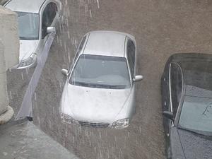 Часть Нижнего Новгорода ушла под воду во время ливня 8 мая