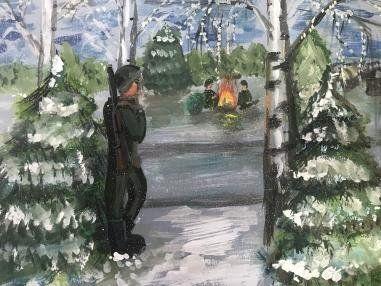 Четырехлетняя Ульяна Романова из Первомайска выиграла Всероссийский конкурс рисунков - фото 2