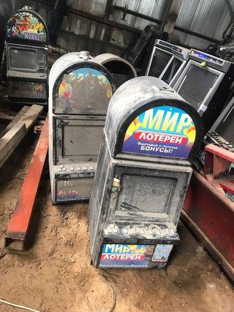 Нижегородские следователи показали, как уничтожаются изъятые игровые автоматы - фото 3