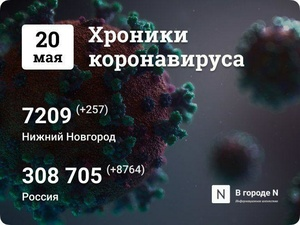 Хроники коронавируса: 20 мая, Нижний Новгород и мир