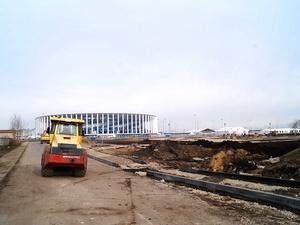 Основное благоустройство вокруг стадиона «Нижний Новгород» завершат к 30 апреля