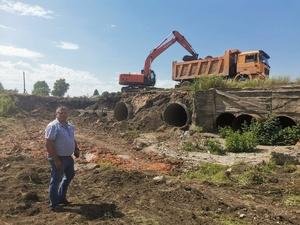 Реконструкция аварийной плотины началась в Первомайске