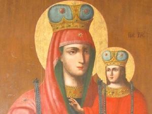 Чудотворную икону Божией Матери встречают в Нижнем Новгороде