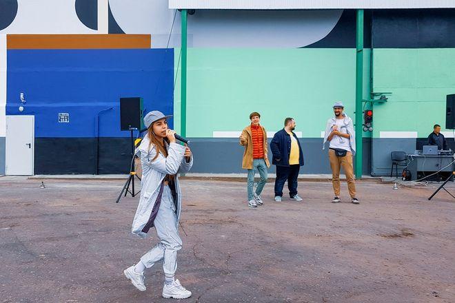 Первый в России индустриальный стрит-арт парк открылся в Выксе  - фото 1