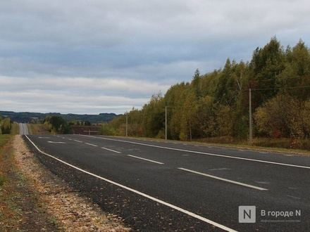 Четыре опасных поворота закроют на трассе М-7 в Нижегородской области