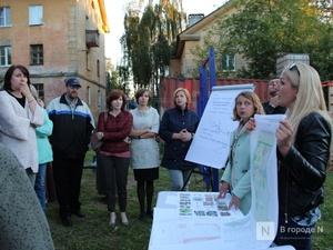 Инициативная группа жителей будет контролировать благоустройство сквера на улице Яблоневой