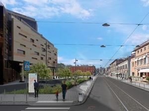 «Городские гостиные» появятся на улице Алексеевской