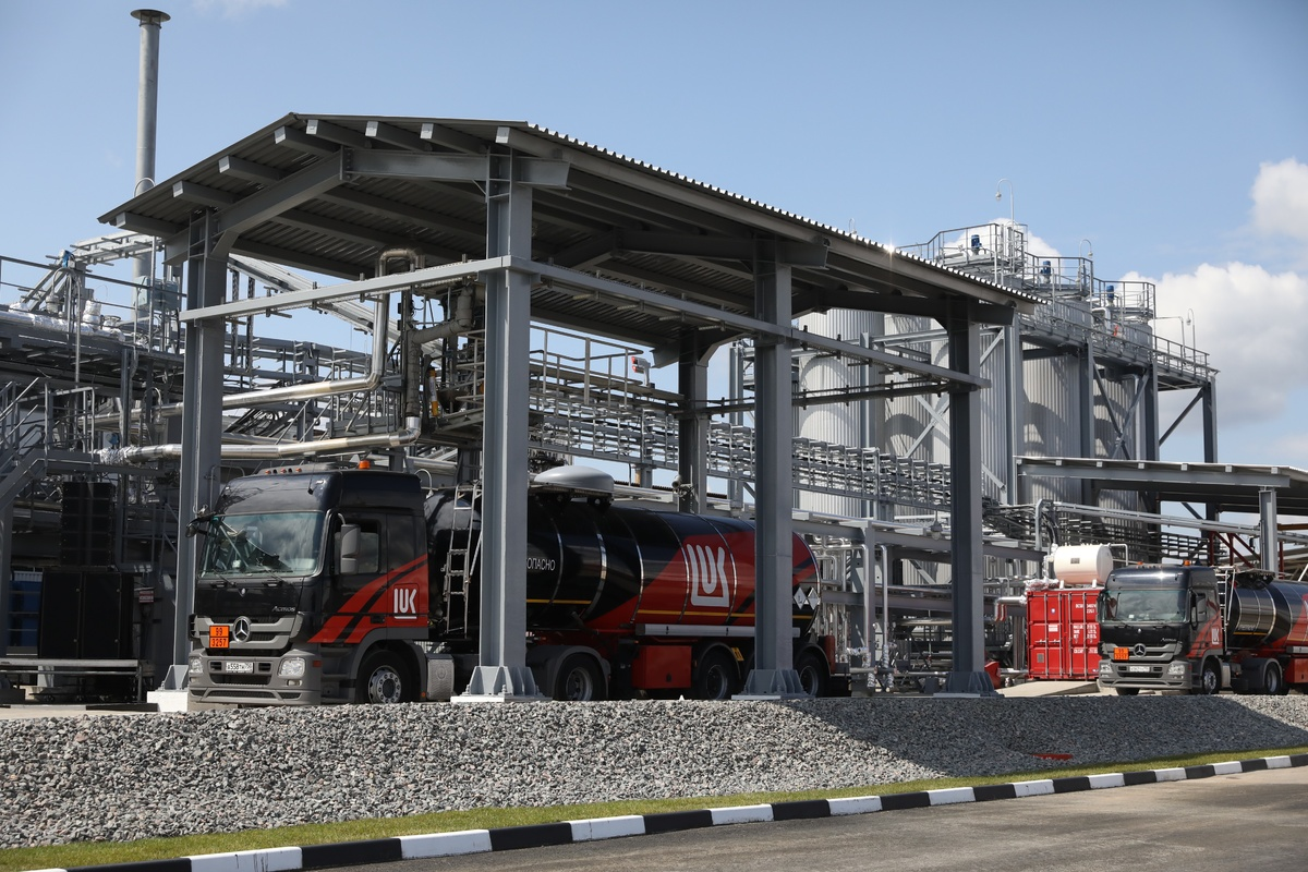 Блок производства битума запустили в Кстове - фото 1