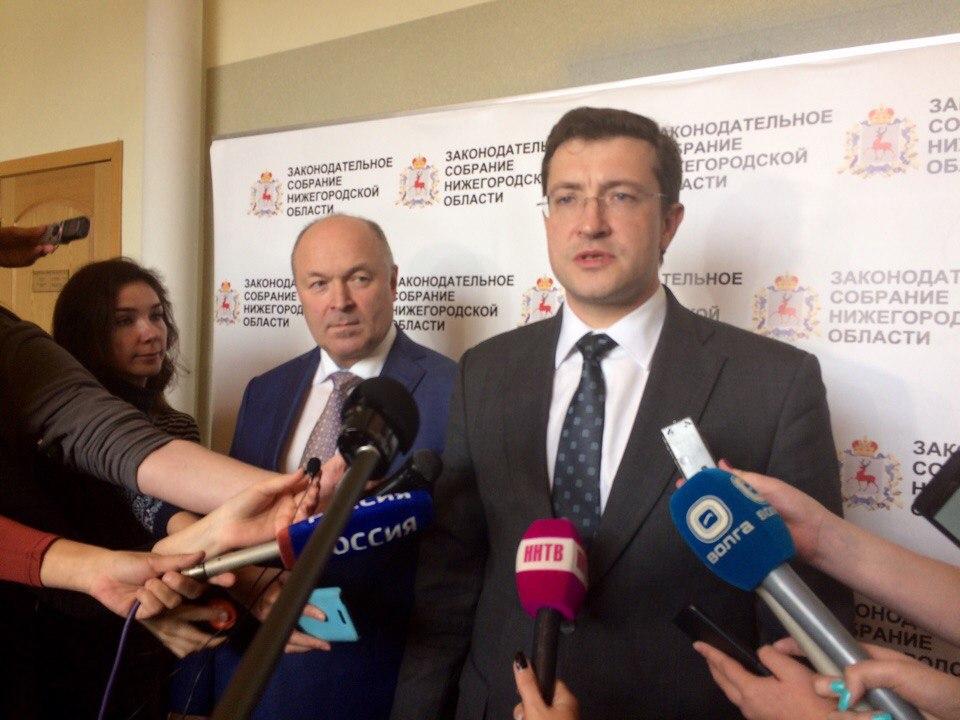 Глеб Никитин предложил отказаться отдвуглавой модели управления вНижнем Новгороде