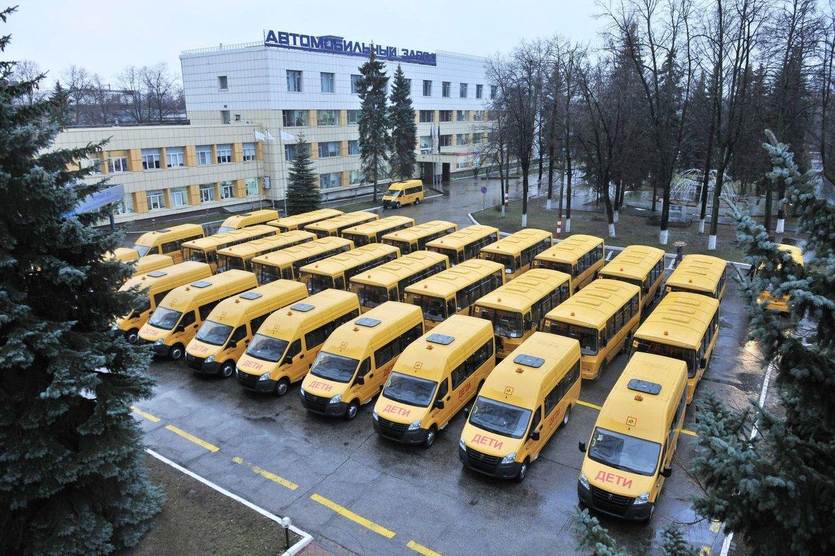 37 школьных автобусов получила Нижегородская область - фото 1