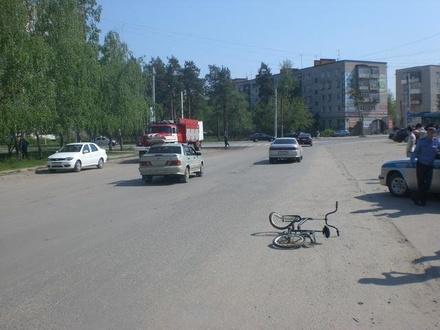 Пенсионеры на иномарке опрокинулись в кювет в Воротынском районе