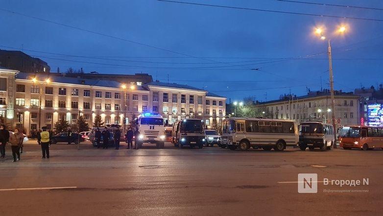 Число задержанных в связи с митингом в Нижнем Новгороде выросло до восьми - фото 1