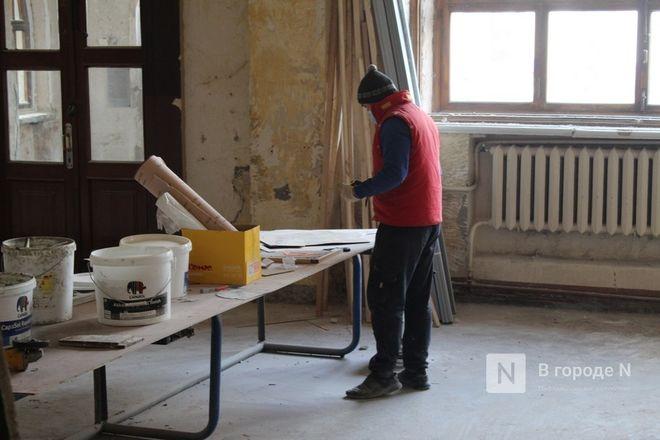 Реставрация Дворца творчества в Нижнем Новгороде выполнена на 10% - фото 23