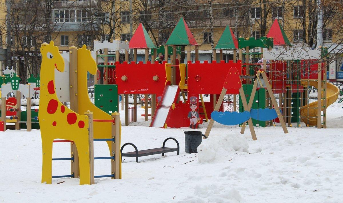 Игровой комплекс в парке Кулибина установят до 1 сентября - фото 1